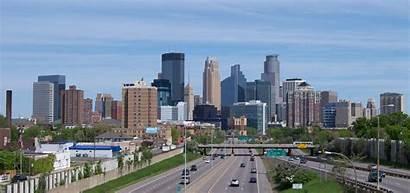 Minneapolis Skyline Minnesota Downtown Usa Winter South
