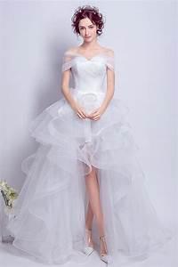 Robe Boheme Courte : boh me robe de mari e 2017 courte devant longue derri re ~ Melissatoandfro.com Idées de Décoration