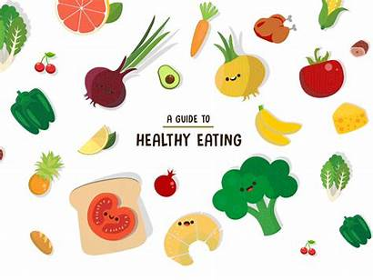 Healthy Eating Graphics Motion Guide Booklet