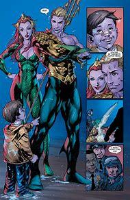 Aquaman and Mera