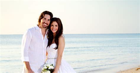 pic jake owen marries lacey buchanan  sunrise ceremony