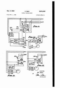 Patent Us2613343 - Plural Voltage Motor