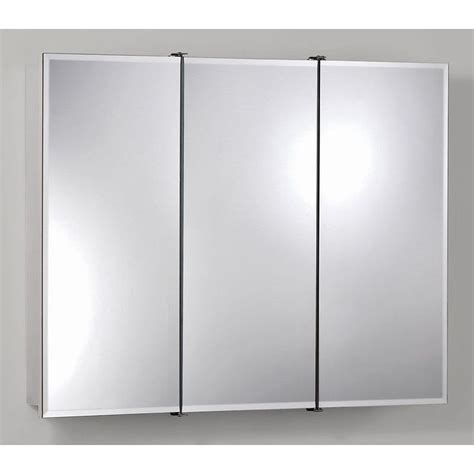 nutone medicine cabinets surface mount broan nutone ashland tri view 36w x 28h in surface mount