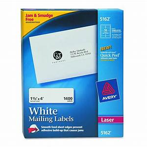 avery dennison easy peel white address label adrs 1 With address label companies