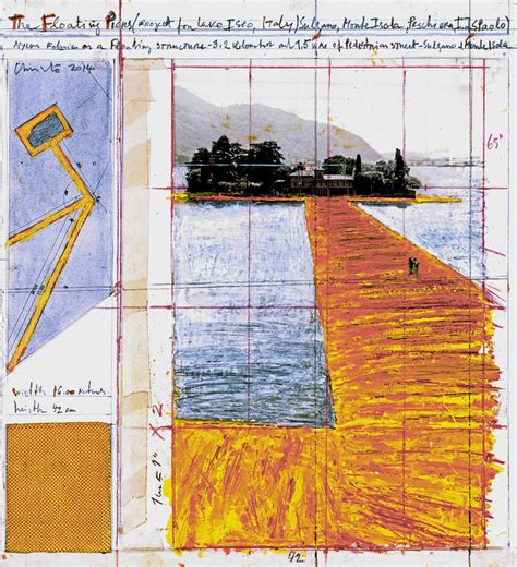 Christo And Jeanneclaude  Projects  The Floating Piers