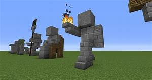 Image Gallery Minecraft Statues