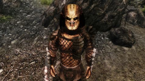 Predator Race With Masks And Weapons The Elder Scrolls V