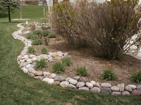 ideas  stone edging  pinterest landscape