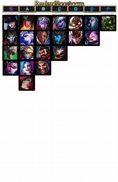 Adc Tier Lol League Legends Champions Season