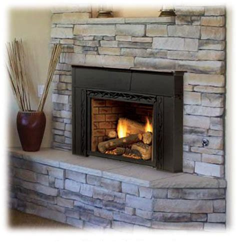 propane fireplace insert vented gas fireplace inserts gas stove inserts