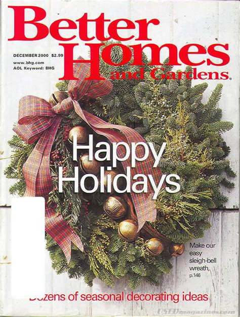 better homes and gardens past issues backissues com better homes and gardens december 2000 product details