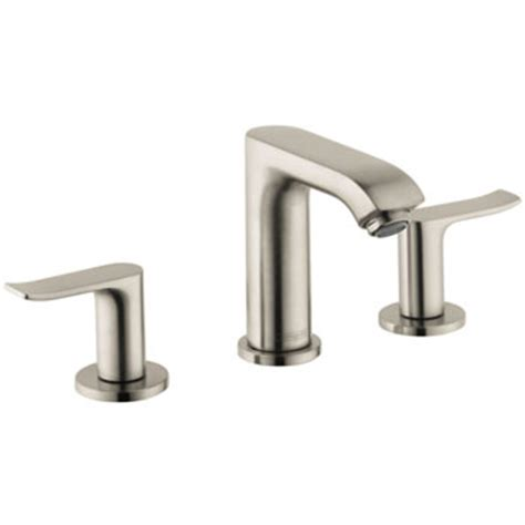 Hansgrohe Metris Kitchen Faucet by Hansgrohe 31083821 Metris 100 Widespread Lavatory Faucet