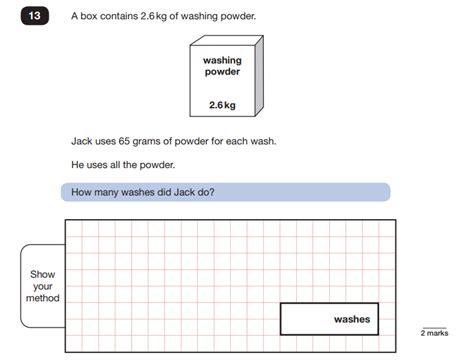 ks2 sats 2018 maths papers question breakdown