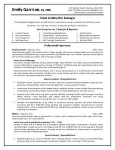 customer relationship manager resume objective garrison emily client relationship manager