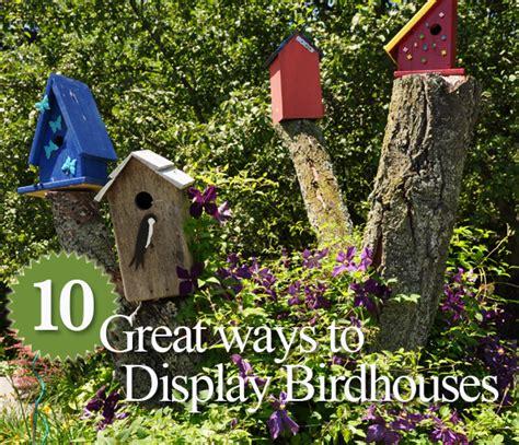 Hometalk  10 Great Ways To Display Birdhouses In Your Garden