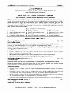best vp of marketing resume template With best marketing resumes