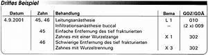Bema Abrechnung : abrechnung nach bema und goz entfernung von z hnen und implantaten eine gegen berstellung ~ Themetempest.com Abrechnung