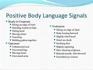 positive and negative body language examples - Google ...