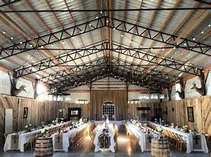 Picture Of Intimate And Lovely Inside Barn Wedding