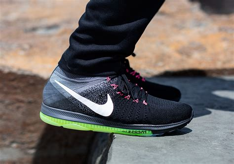 new balance grey pink nike zoom all out flyknit black grey sneaker bar detroit
