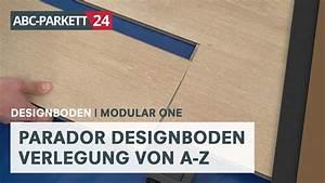 Parador Modular One Test : parador designboden modular one selber verlegen youtube ~ Watch28wear.com Haus und Dekorationen