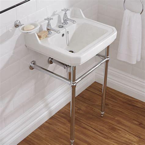 lavabo sur pied lavabo r 233 tro sur pied chrom 233 56cm