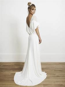 Robe De Mariée Dos Nu Plongeant : d couvrez les plus belles robes de mari e dos nus ~ Melissatoandfro.com Idées de Décoration