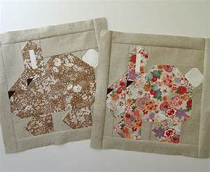 Free Easter Bunny Quilt Block Tutorial