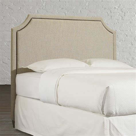corner bed headboard clipped corner queen headboard bassett furniture