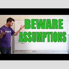 Gmat Tuesday Gmat Math Questions  Beware Assumptions Youtube