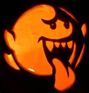 Gizmo Pumpkin Stencil Template by Mario Pumpkin Spookify Your Pumpkin With A Mario Pumpkin