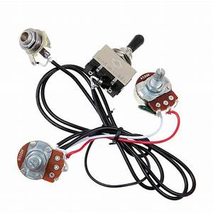 Electric Guitar Wiring Harness Kit 3 Way Toggle Switch 1