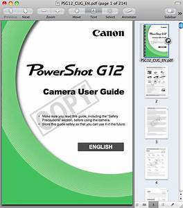Canon G12 Manual  U2014 Download The Pdf Now