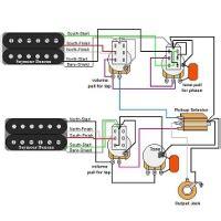 Guitar Wiring Diagrams Humbucker Volume