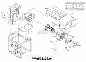 Powermate Formerly Coleman Pm0525302 04 Parts Diagram For