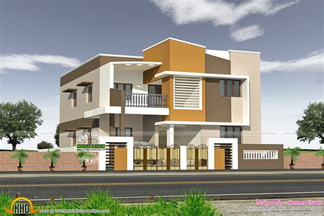 Modern south Indian house - Kerala home design and floor plans