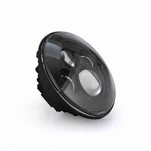 Eagle Lights Black 7 U0026quot  Harley Led Projection Headlight For