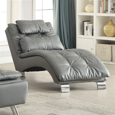 dilleston armless living room chaise  coaster
