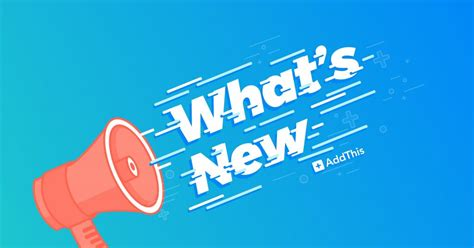 What's New March 2018 Addthis