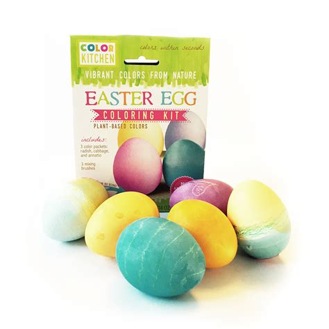 Egg Coloring Kit by Easter Egg Coloring Kit Plant Based Colors