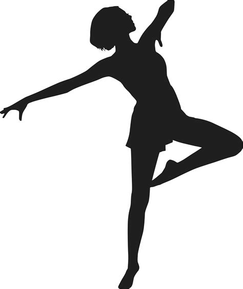 Dance Jazz Dancer Silhouette Clip Art