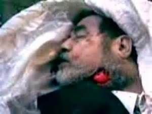Saddam Hussein Dead Body
