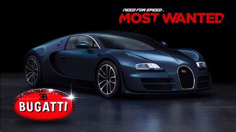 Need For Speed Most Wanted 2012 [ Bugatti Veyron Super