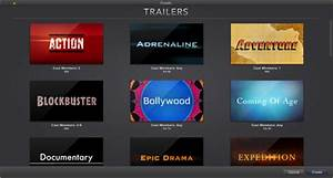 imovie 2013 create a trailer With trailer templates for imovie