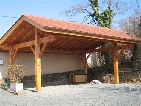 timber frame carports d 233 couvrez nos abris de voiture en bois ou carport pour