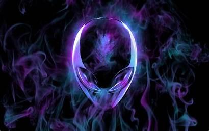 Alienware Alien Cool Desktop Teal Purple