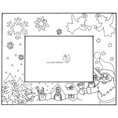 Cornice Di Natale Per Bambini Cornicette Per Natale Da Colorare Mamma E Bambini