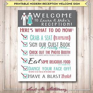 printable modern rustic wedding reception welcome sign With downloadable wedding signs