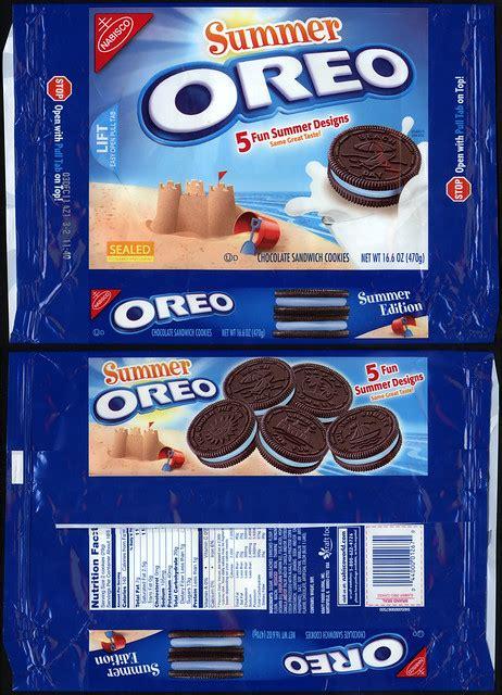 nabisco oreo summer cookie package  flickr