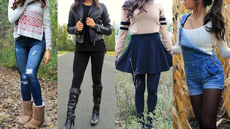 Cute Fall Outfits 2016 Prettyinqbrb Youtube